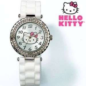 NIB Sweet Shine Hello Kitty crystal watch